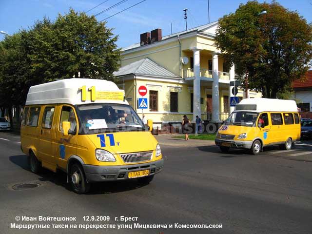 маршрутных такси Бреста,