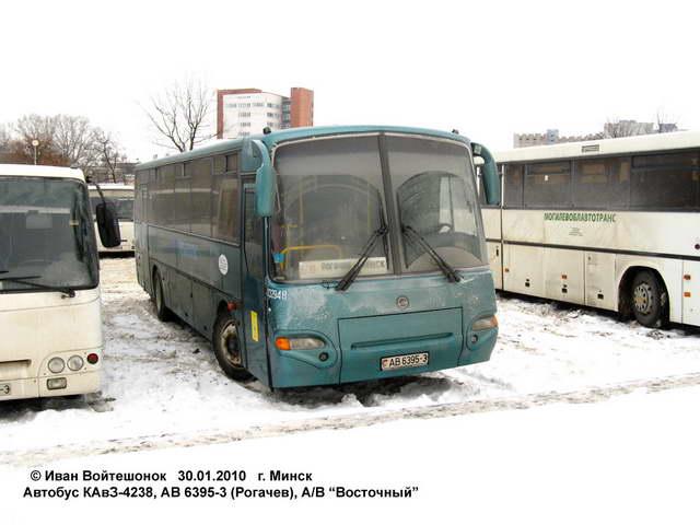 маршрутов (КАвЗ-4238-02).