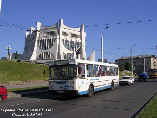 Модели автобусов Гродно