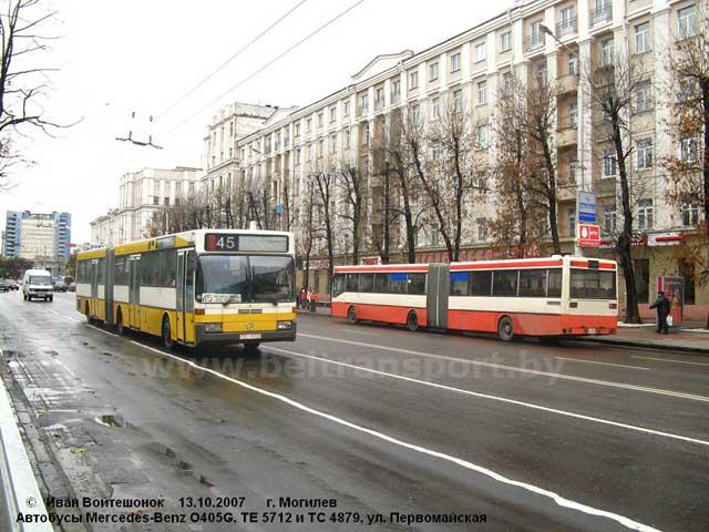 Автобусы выпуска конца 80-х