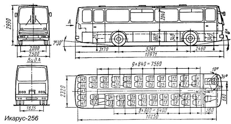 Икарус схема двигателя